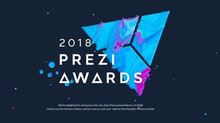 """Prezi Awards 2018 """"Prezi Expert: Best Overall"""" 受賞しました。"""